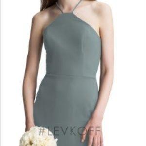 Bill Levkoff dress Style 7007 in Slate size 4